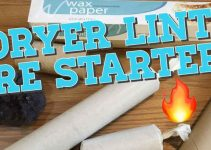 fire starters with dryer lint 101