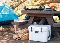 camping food cooler