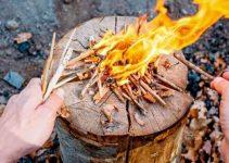 starting a campfire