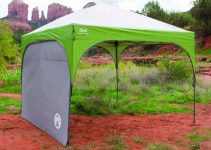 coleman canopy with sunwall