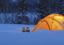 tent heating ideas