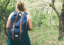 Hiking with a backpack
