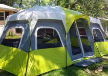 a large 12 man tent