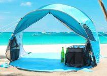 uv beach tent