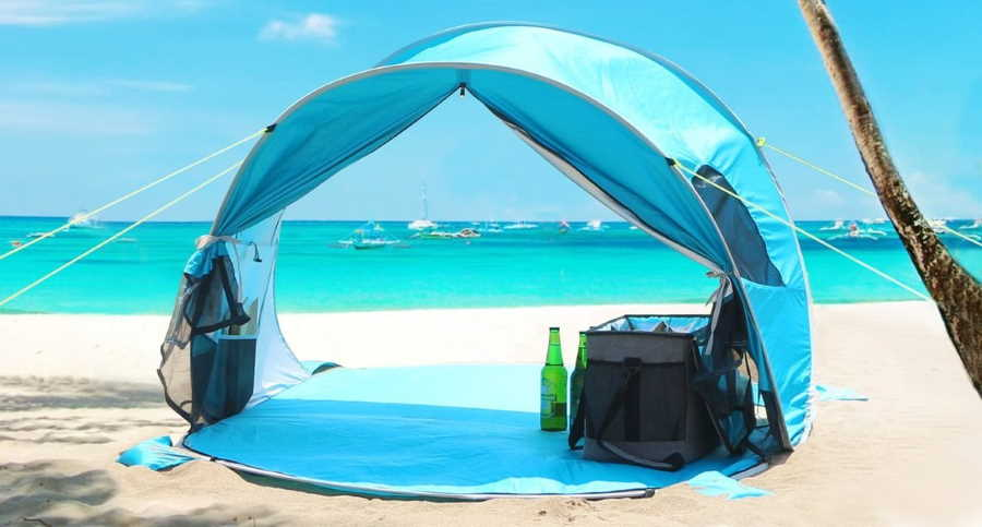 Best Beach Tent For Wind And Sun Protection Camping Valley