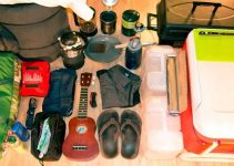 packing essentials for camping in a tent