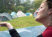 prepare for camping in the rain