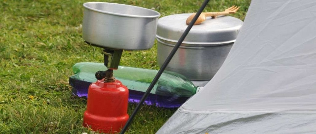 camping cooking equipment