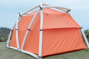 coleman inflatable tent