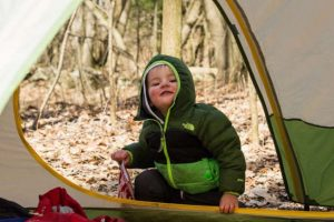 baby Cold weather camping