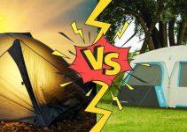 cabin vs dome tent