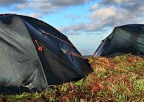secure your camping tent in wind
