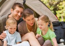 4 man family camping tents