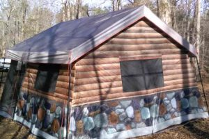 Timber Ridge Log Cabin Tent Review